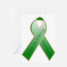 CP Awareness Ribbon.JPG Greeting Cards