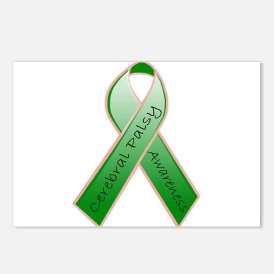 CP Awareness Ribbon.JPG Postcards (Package of 8)