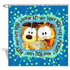 Goofy Faces Shower Curtain
