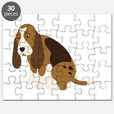 Bassett Hound Puzzle