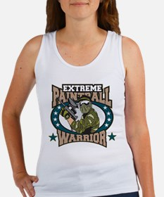 Extreme Paintball Warrior Women's Tank Top