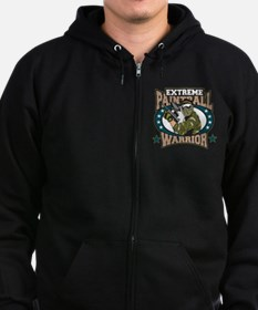 Extreme Paintball Warrior Zip Hoodie (dark)