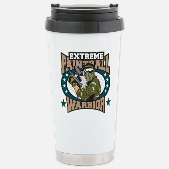 Extreme Paintball Warri Stainless Steel Travel Mug