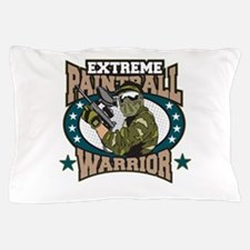Extreme Paintball Warrior Pillow Case