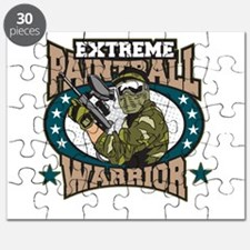 Extreme Paintball Warrior Puzzle