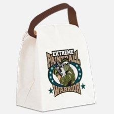 Extreme Paintball Warrior Canvas Lunch Bag