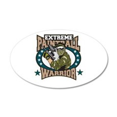 Extreme Paintball Warrior Wall Decal