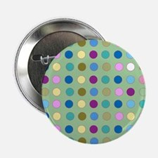 "Polka Dots on Mint 2.25"" Button"