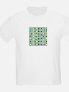 Polka Dots on Mint T-Shirt