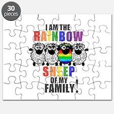 Rainbow Family Sheep Puzzle