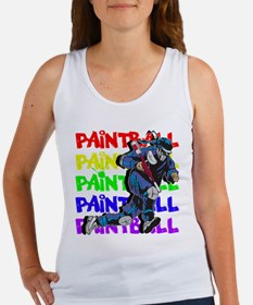 Paintball Player Women's Tank Top