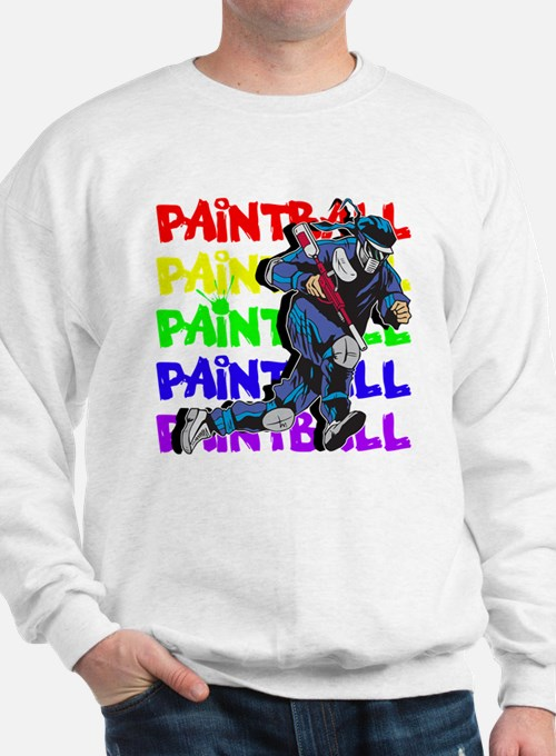 Paintball Player Sweater