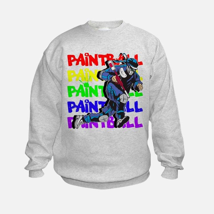 Paintball Player Sweatshirt