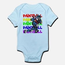 Paintball Player Infant Bodysuit