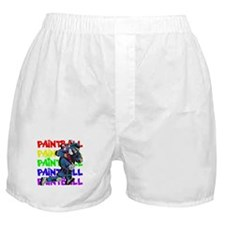 Paintball Player Boxer Shorts