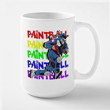 Paintball Player Mug