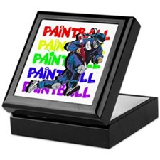 Paintball Player Keepsake Box