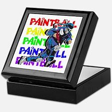 Paintball Player Keepsake Box