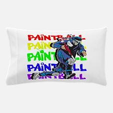 Paintball Player Pillow Case