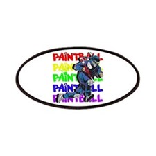 Paintball Player Patch