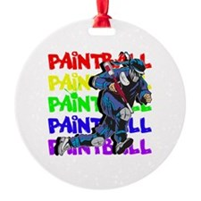 Paintball Player Ornament
