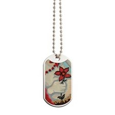 ruby transparent Dog Tags