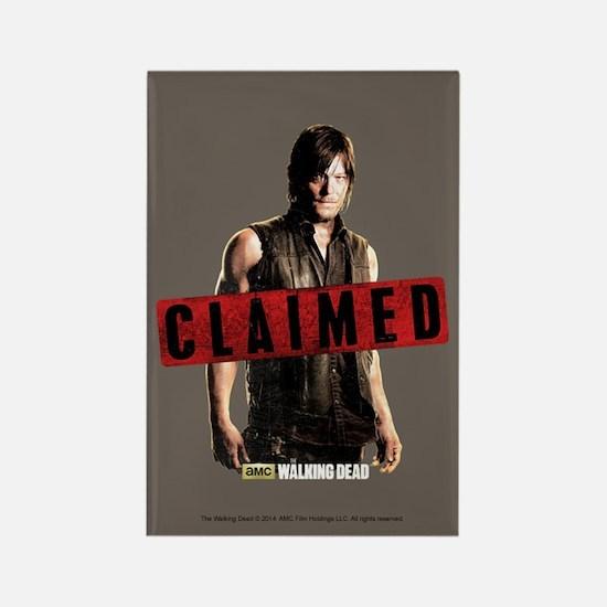Daryl Dixon Claimed Rectangle Magnet