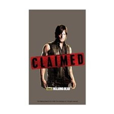 Daryl Dixon Claimed Decal