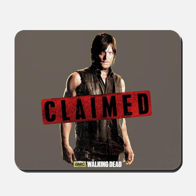 Daryl Dixon Claimed Mousepad