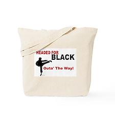 Outa' The Way Tote Bag