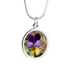 Pansy Necklaces