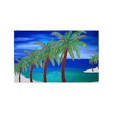 Palm Beach Art 3'x5' Area Rug