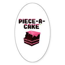 Piece-A-Cake - Cake Bite Decal