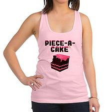 Piece-A-Cake - Cake Bite Racerback Tank Top