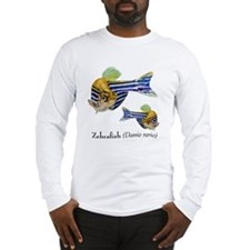 zebrafish_simple t-shirt Long Sleeve T-Shirt