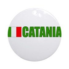 Catania, Italy Ornament (Round)