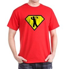 Golfing Superhero T-Shirt