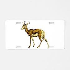Springbok Aluminum License Plate