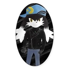 Klonoa with leather Jacket Decal