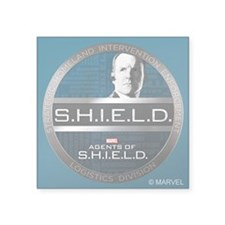 "S.H.I.E.L.D. Square Sticker 3"" x 3"""