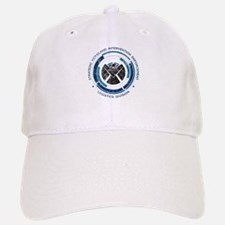 Distressed Shield Baseball Baseball Cap