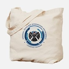Distressed Shield Tote Bag
