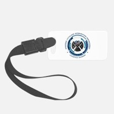 Distressed Shield Luggage Tag