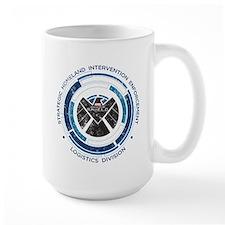 Distressed Shield Mug