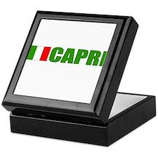 Capri, Italy Keepsake Box