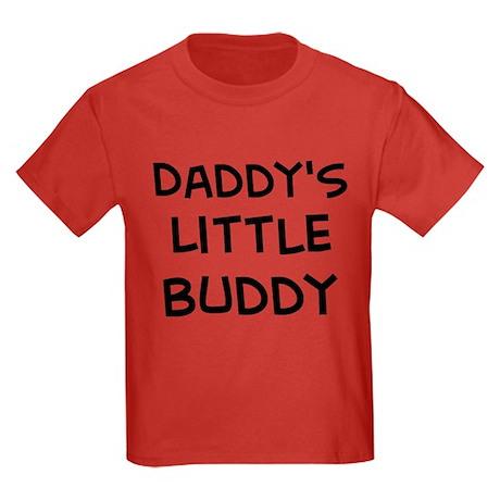 Daddy's Little Buddy Kids Dark T-Shirt