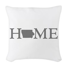 Iowa Home Woven Throw Pillow
