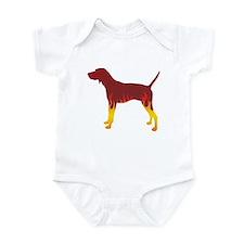 Walker Flames Infant Bodysuit