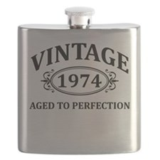 Vintage 1974 Aged to Perfection Flask