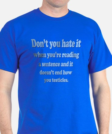 Funny - Testicles! T-Shirt